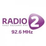 Logo da emissora Radio 2 92.6 FM