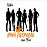 Logo da emissora Rádio Nova Geração com Deus