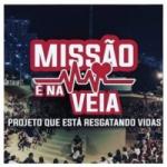 Logo da emissora Radio Missão é Na Veia Grupo Bruno Pessoa