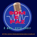 Logo da emissora Rádio Web Som e Paz