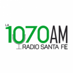 Logo da emissora Radio Santa Fe 1070 AM