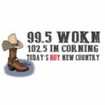 Logo da emissora WOKN 99.5 FM