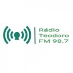 Logo da emissora Rádio Teodoro FM 98.7
