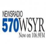 Logo da emissora WSYR 570 AM - 106.9 FM