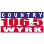 Logo da emissora WYKR 106.5 FM