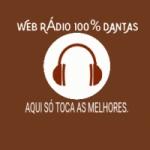 Logo da emissora Web Rádio 100% Dantas