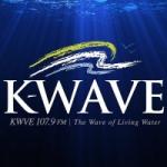 Logo da emissora Radio KWVE 107.9 FM
