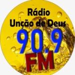Logo da emissora Rádio Unção de Deus