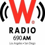 Logo da emissora Radio W Radio 690 AM