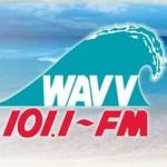 Logo da emissora WAVV 101.1 FM