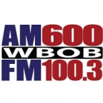 Logo da emissora Radio WBOB 600 AM 100.3 FM