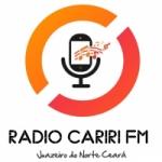 Logo da emissora Rádio Cariri FM