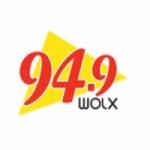 Logo da emissora WOLX 94.9 FM