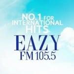 Logo da emissora Radio Eazy 105.5 FM