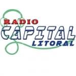 Logo da emissora Rádio Capital Litoral