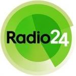 Logo da emissora Radio 24 104.8 FM