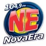 Logo da emissora Rádio Nova Era 104.9 FM