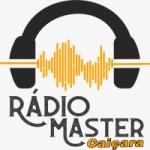 Logo da emissora Rádio Master Caiçara