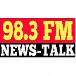 Logo da emissora Radio WWHP News-Talk 98.3 FM