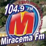 Logo da emissora Rádio Miracema 104.9 FM