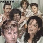 Logo da emissora Radio Free 107.8 FM