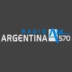 Logo da emissora Radio Argentina 570 AM