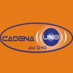 Logo da emissora Radio Cadena Uno 1240 AM