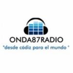 Logo da emissora Onda 87 Radio