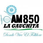 Logo da emissora Radio La Gauchita 850 AM