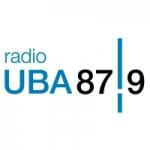 Logo da emissora Radio UBA 87.9 FM