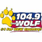 Logo da emissora Radio WXCL 104.9 The Wolf FM