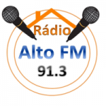 Logo da emissora Rádio Alto FM Buriti-MA