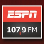 Logo da emissora Radio ESPN 107.9 FM
