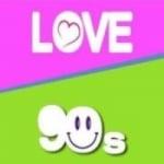 Logo da emissora Radio Love 90's 91.1 FM