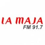 Logo da emissora Radio La Maja 91.7 FM