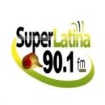 Logo da emissora Radio Super Latina 90.1 FM