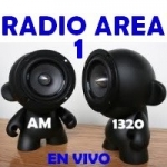 Logo da emissora Radio Area 1 1320 AM