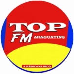 Logo da emissora Rádio Top Araguatins