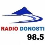 Logo da emissora Radio Donosti 98.5 FM