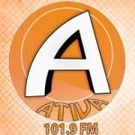 Logo da emissora Radio Ativa 101.9 FM