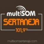 Logo da emissora Rádio Multisom Sertaneja 101.9 FM