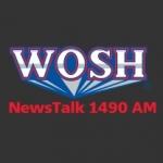 Logo da emissora WOSH 1490 AM