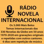 Logo da emissora Rádio Novela Internacional