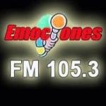 Logo da emissora Radio Emociones 105.3 FM