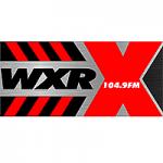 Logo da emissora Radio WXRX  The X 104.9 FM