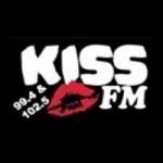 Logo da emissora Radio Kiss 99.4-102.5 FM