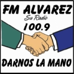 Logo da emissora Radio Alvarez 100.9 FM