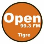 Logo da emissora Radio Open 99.3 FM