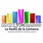 Logo da emissora Mix FM Radio 98.9
