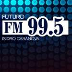 Logo da emissora Radio Futuro 99.5 FM